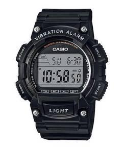 Watch- Casio Vibrate Alarm W736H-1 -ORIGINAL