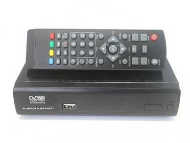Decoder untuk siaran mytv DVB T2 M2 Full HD