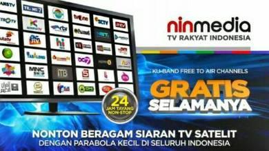 Siaran MyTv Malaysia Dan Siaran Ninmedia Indonesia