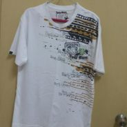 Authenthic White Body Glove Tshirt (Price Reduced)