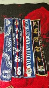 Towel mafla football j.league jpn team combo