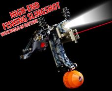 High-End Fishing Slingsot I | Lastik Pancing