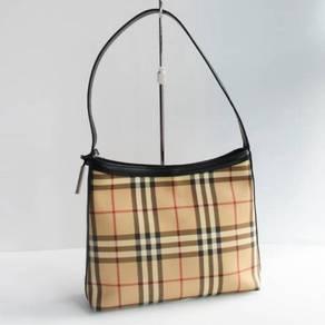 Original Burberry Nova Check Shoulder Bag