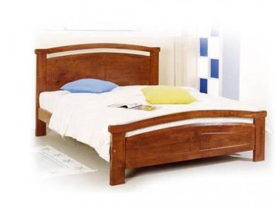 Katil kayu divan base bed bedframe perabot 428