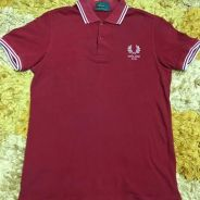 Fred Perry x England 2010 twin-tipped polo shirt