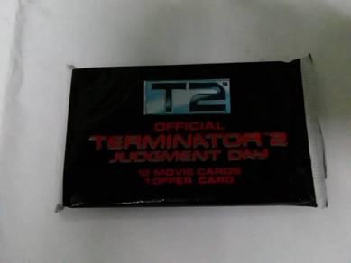 Terminator 2 Movie Trading Cards not Marvel