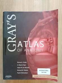 Gray's Atlas of Anatomy 1st Edition