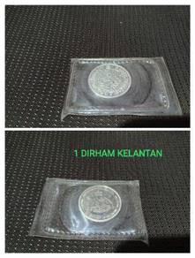Dirham Kelantan untuk dijual (matawang perak)