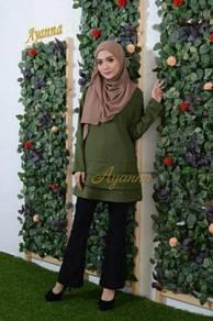 Jasneeta layer blouse saiz 36 hingga 55 004