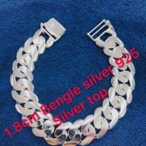 Silver bengle 925