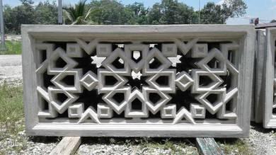 Bunga pagar konkrit