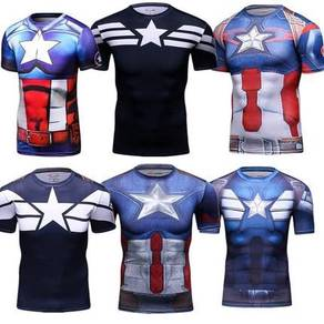 Marvel Captain America slim fit sport wear