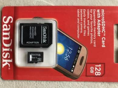 Micro sd 128gb sandisk