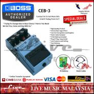 Boss CEB-3 Bass Chorus Guitar Effects Pedal (CEB3)