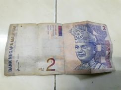 Old antique rm2 note