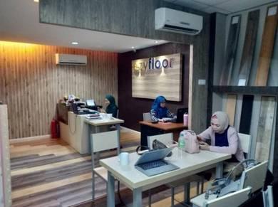Midium Office Room - furnished & renovated at batu cavas
