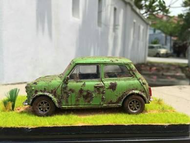 Mini cooper custom rusty