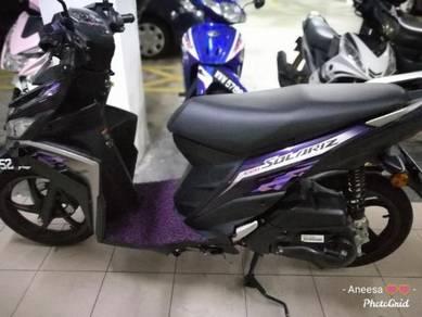 Yamaha Ego Solariz 125 untuk dijual (Mei 2018)