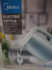 Midea jug kettle double wall