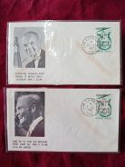 FDC Togo Space Flights Glenns 1962 C051
