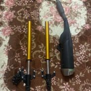 R15 fork & exhaust