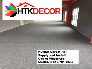 Specialists installation of Carpet Rolls 57XT