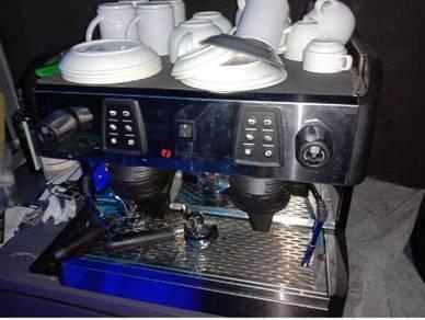 Coffee Machine Double Head