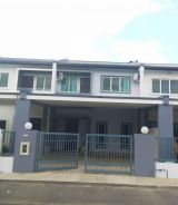Double Storey Terrace House ( Kuching City Mall) For Rent