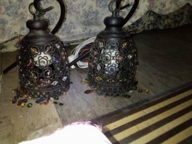 Lampu antik untuk hiasan rumah Dan kdai