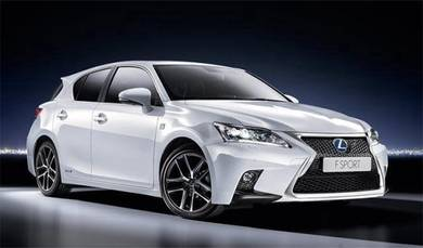 Lexus CT200 F Sport Front And Rear Bumper New PP