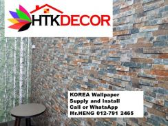Install Wall Paper in your office 24HG