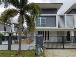 Pulai Indah Cluster House 6 bedrooms End Lot Unblock View Full Loan