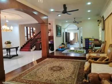 [strategic location] 2 sty bungalow sec. 9 shah alam rm3 mil nego
