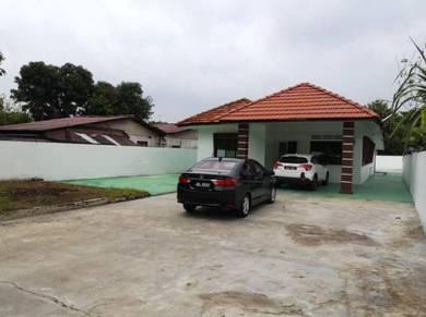 Single Storey House with 8000 sqft Land in Melaka Raya