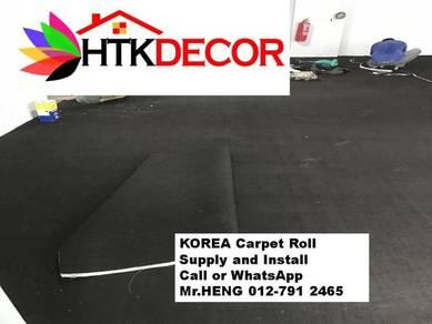 Advisors installation of office carpet roll 93ZB