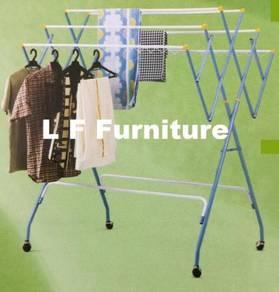 Rak Kering Baju,Cloth Drying Rack,Dry Cloth Hanger