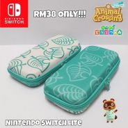 Nintendo Switch Animal Crossing Leaf Design Pouch