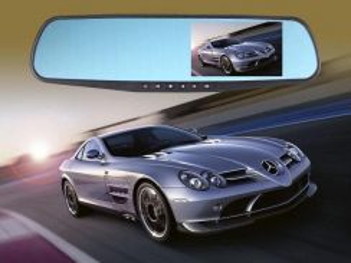 Rear View Mirror Monitor Car DVR Reverse Camera