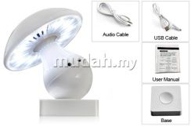 Bluetooth Mushroom LED Lamp- New