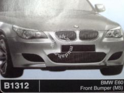 Bmw e60 m5 m sport fibre bodykit without paint