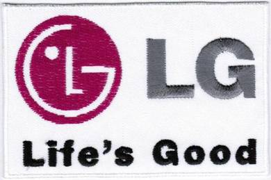 LG Corporation Lucky Goldstar #2 Badge Patch