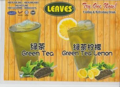 Syrup juice leaves
