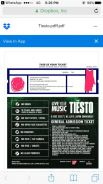 Tiesto tix for sale (2vouchers)