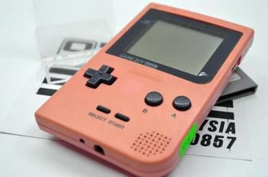 Pink Gameboy Pocket Dengan Games