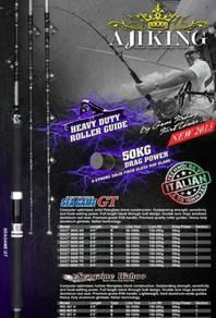 Ajiking sea game gt fishing rod