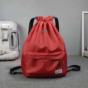Plain Color: Drawstring Bags