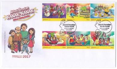 First Day Cover Childrens Holiday Activities 2017