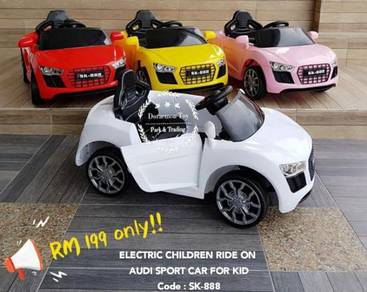 Electric children ride on audi sport car for kid