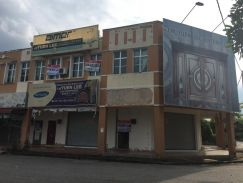1.5-storey shop office Corner , Taman Bemban Heights, Jasin, Melaka