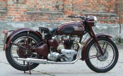 TRIUMPH 5T Speed Twin 1949 England norton bsa